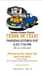 Trunk or Treat - 2019