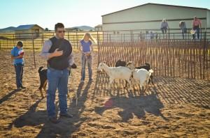 Sam Hubbell Goat Roping